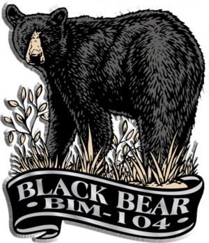 Banner bear imprint magnet
