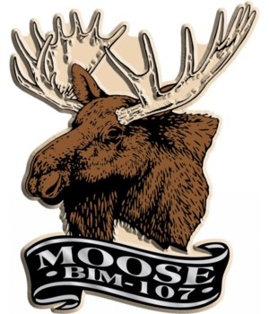 Moosehead imprint magnet