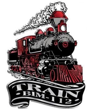 Banner train imprint magnet