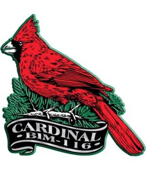 Banner cardinal imprint magnet