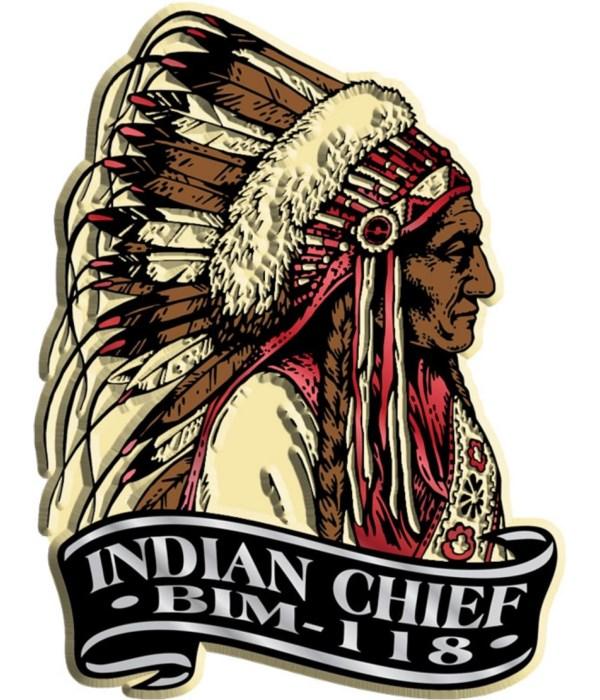 Banner Indian imprint magnet
