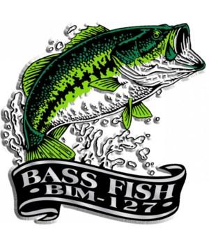 Banner Bass imprint magnet