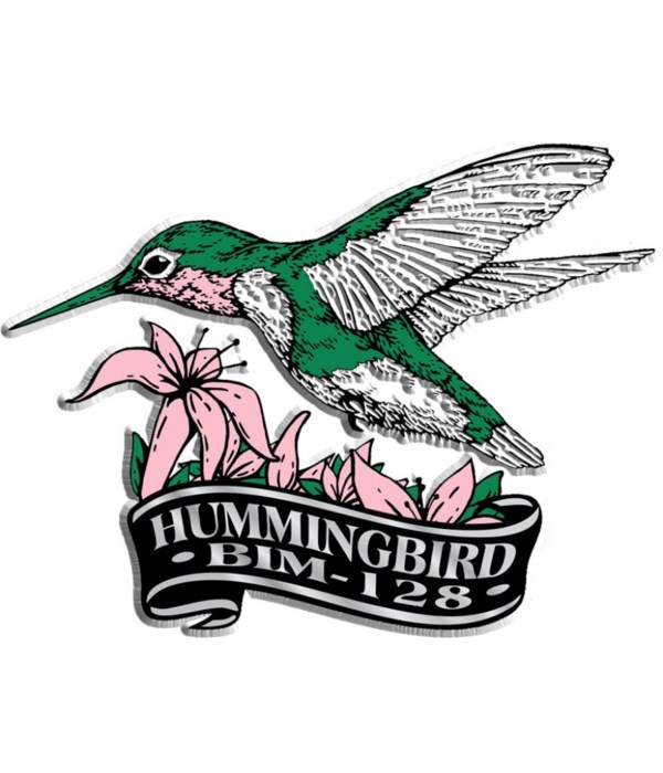 Banner Humminbird imprint magnet