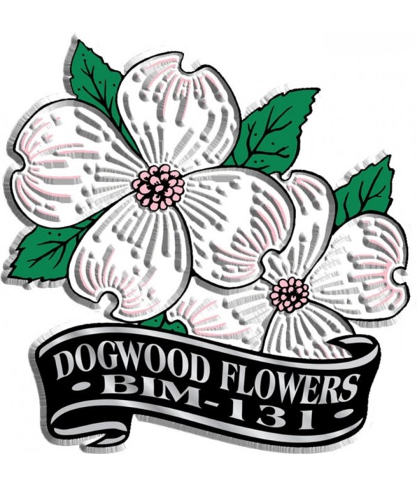 Banner Dogwood imprint magnet