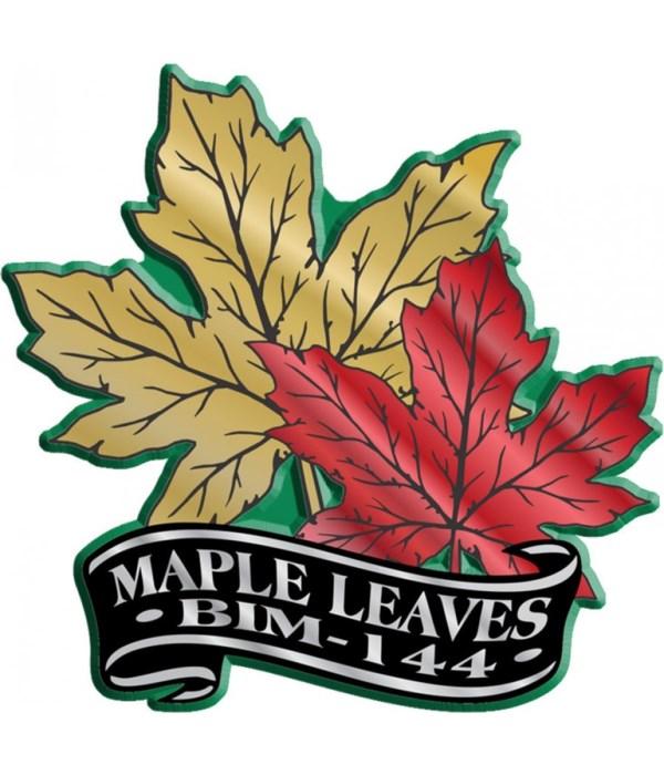 Banner Leaf imprint magnet
