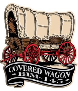 Banner Wagon imprint magnet