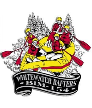 Banner Whitewater imprint magnet