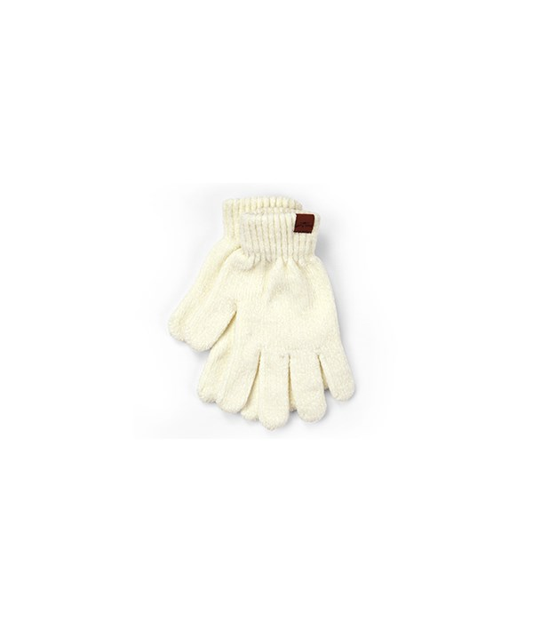 Oatmeal Beyond Soft Chenille Gloves 6PC