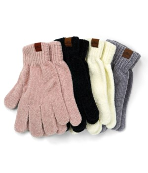 Soft Chenille Gloves 24PC
