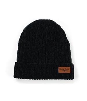 Black Beyond Soft Chenille Hat 6PC