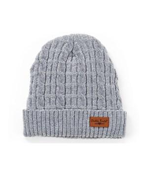 Gray Beyond Soft Chenille Hat 6PC