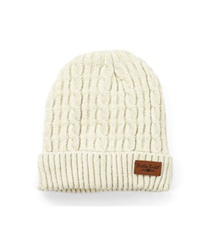 Oatmeal Beyond Soft Chenille Hat 6PC