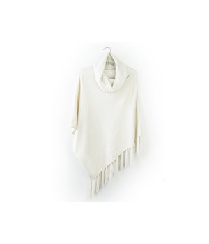 Oat Beyond Soft Chenille Poncho 3PC