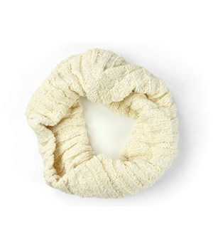 Oatmeal Chenille Infinity Scarf 3PC