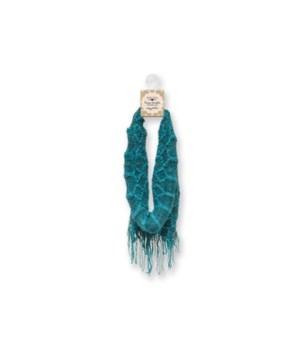Britt's Knits Infinity Scarf - Teal/Turq