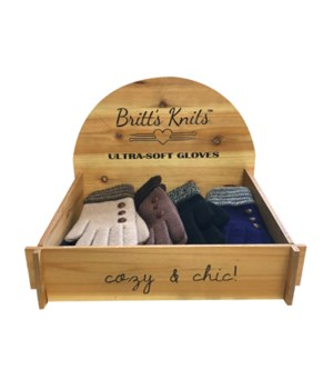 Britt's Knits Gloves 24PC Unit D