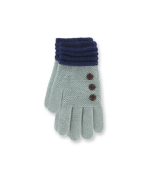 Britt's Knits Gloves - Grey 4PC Refill