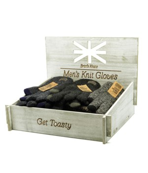 Britt's Knits Men Frontier Gloves 24PC D