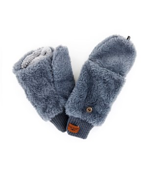 Gray Convertible Mittens 4PC Refill