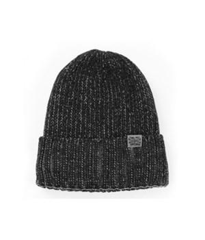 Black Winter Harbor Men's Knit Hat 6PC