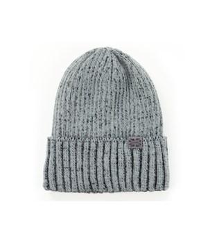 Gray Winter Harbor Men's Knit Hat 6PC
