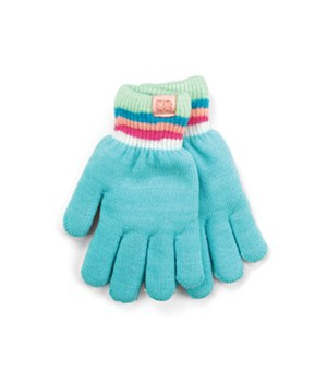 Aqua Britt's Knits Kid's Gloves 4PC