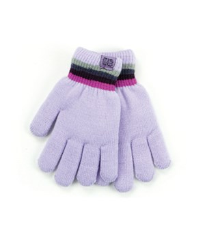 Lavender Britt's Knits Kid's Gloves 4PC
