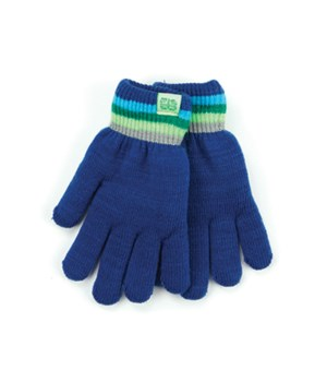 Navy Britt's Knits Kid's Gloves 4PC