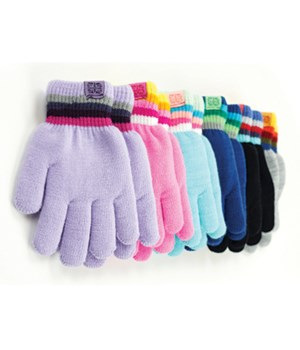 Kids Fuzzy-Lined Gloves 24 PC