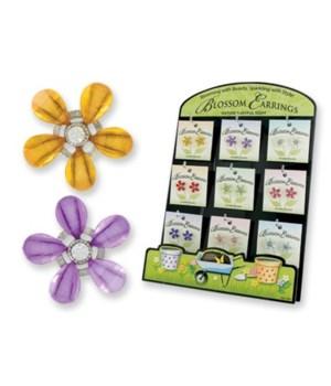 *Blossoms flower earrings
