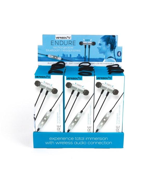 Rechargeable Bluetooth® Headphones 12PC