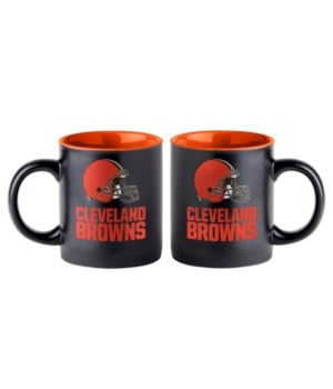 BLACK MUG - CLEV BROWNS