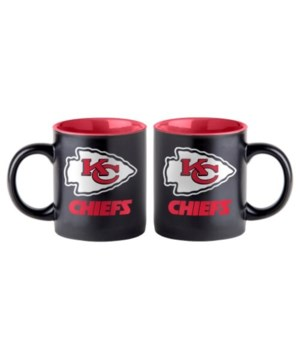 BLACK MUG - KC CHIEFS