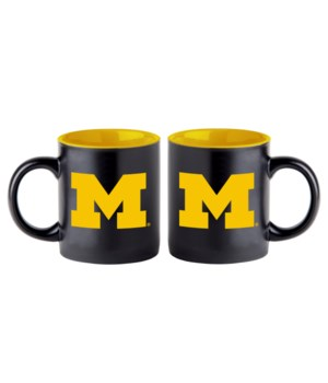 BLACK MUG - MICHIGAN WOLVERINES