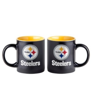 BLACK MUG - PITT STEELERS