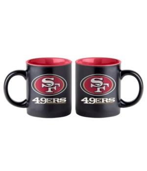 BLACK MUG - SF 49ERS