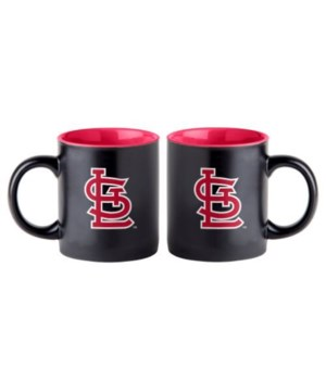 BLACK MUG - ST LOUIS CARDINALS