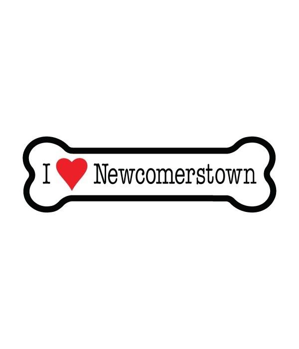 Newcomerstown bone magnet