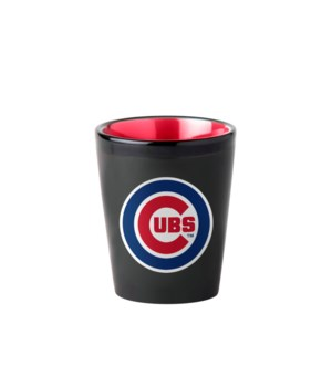 BLACK SHOT GLASS - CHIC CUBS