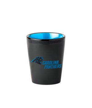 BLACK SHOT GLASS - CAR PANTHERS