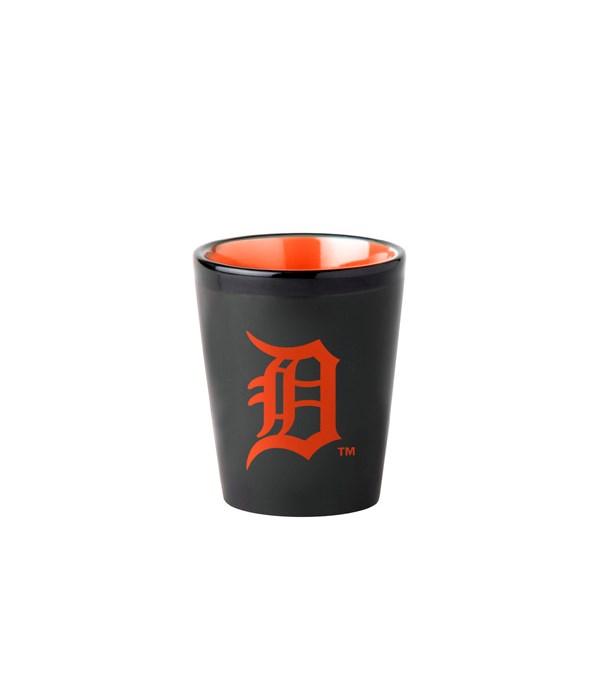 BLACK SHOT GLASS - DET TIGERS