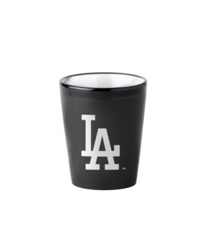 BLACK SHOT GLASS - LA DODGERS