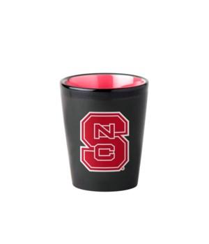 BLACK SHOT GLASS - NC STATE