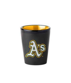 BLACK SHOT GLASS - OAK A'S