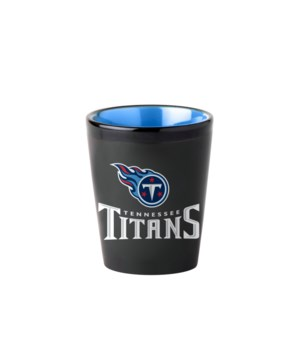 BLACK SHOT GLASS - TENN TITANS