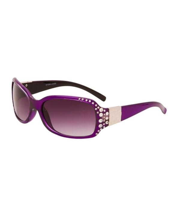 Women's Fashion Sunglasses w/ Rhinestones