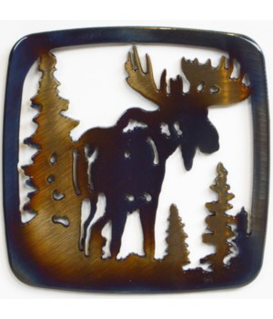 Moose with Trees Coaster
