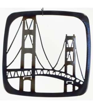 """Mackinac Bridge 7"""" Trivet"""