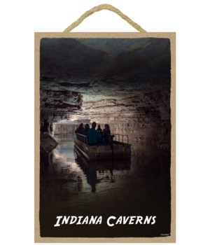 Indiana Caverns - Boat 7 x 10