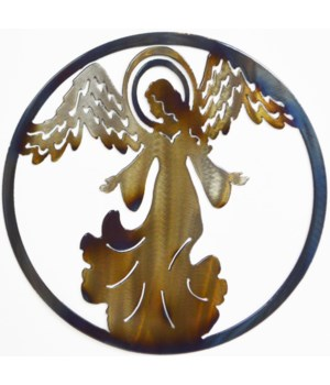 "Angel 9"" Round Art"